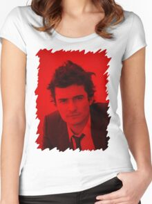 Orlando Bloom - Celebrity Women's Fitted Scoop T-Shirt
