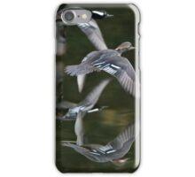 Flight of a pair of Hoodies! iPhone Case/Skin