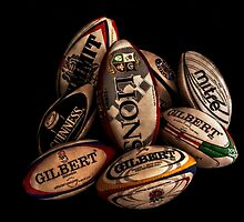 Rugby Balls by Andrew Pounder