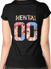 Hentai 00 Longsleeve Women's Fitted Scoop T-Shirt