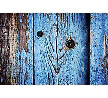 Happy Fencepost  Photographic Print