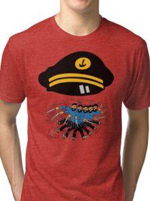 captain haddock Tri-blend T-Shirt