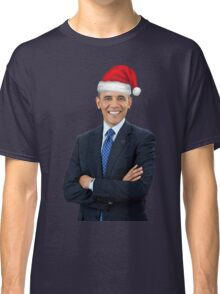 Barack Obama - Merry Christmas Classic T-Shirt