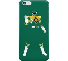Mighty Morphin Green Power Ranger iPhone / iPad case iPhone Case/Skin