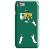 Mighty Morphin Green Power Ranger iPhone / iPad case iPhone Case/Skin