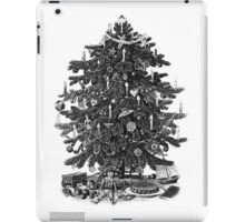Vintage Christmas Tree With Ornaments and Toys iPad Case/Skin