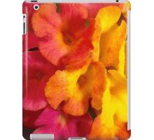 Macro mini flowers iPad Case/Skin