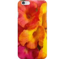 Macro mini flowers iPhone Case/Skin