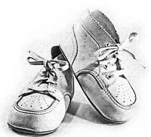Vintage Baby Shoes by digitaleclectic