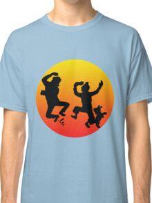 tintin sunset Classic T-Shirt