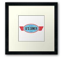 JJ's Diner Framed Print