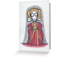 anne of cleves Greeting Card