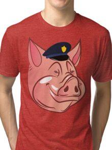 PIGS IS PIGS.  Tri-blend T-Shirt
