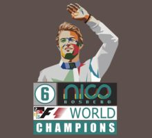 Nico F1 World Champion 2016 One Piece - Short Sleeve