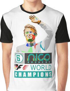 Nico F1 World Champion 2016 Graphic T-Shirt