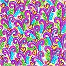 Pink VSwirls by Sammy Nuttall