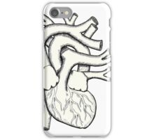 Hatched Heart iPhone Case/Skin