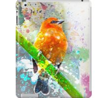 Vibrant Watercolor Bird [0.1] iPad Case/Skin