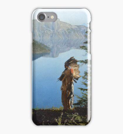 Praying to the Spirits iPhone Case/Skin