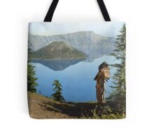 Praying to the Spirits Tote Bag