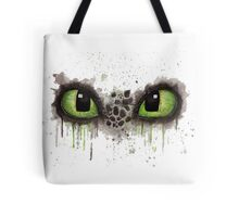Toothless' eyes in watercolour Tote Bag