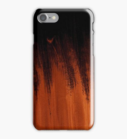 Orange Abstract Design for Phones iPhone Case/Skin
