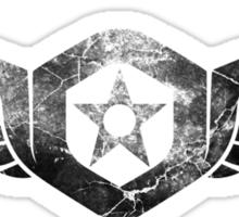 Gypsy Danger Logo - Black Sticker