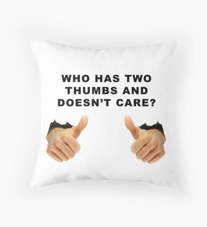 Bob Kelso wisdom Throw Pillow