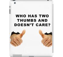 Bob Kelso wisdom iPad Case/Skin