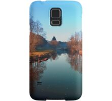 Winter mood on the river | waterscape photography Samsung Galaxy Case/Skin