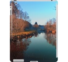 Winter mood on the river | waterscape photography iPad Case/Skin