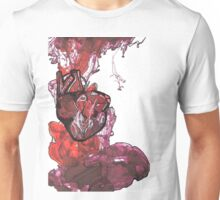 Pen study of anatomical heart on card stock  Unisex T-Shirt