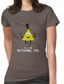 Bill Cipher Womens Fitted T-Shirt