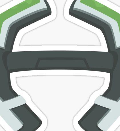 Voltron Legendary Defender Bayard - Green Sticker