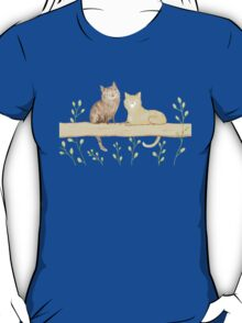 Cats on the Fence T-Shirt