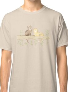 Cats on the Fence Classic T-Shirt