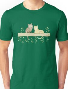Cats on the Fence Unisex T-Shirt