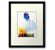 King of New York Framed Print