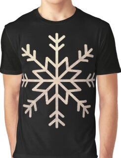 Snow illustration for Christmas Graphic T-Shirt