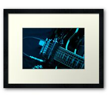 Live Music Band Guitar Framed Print