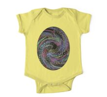 Psychedelic Thumbprint  One Piece - Short Sleeve