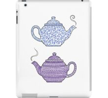 Patterned Teapots iPad Case/Skin