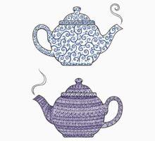 Patterned Teapots Kids Clothes
