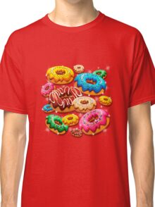 Donuts Party Time   Classic T-Shirt