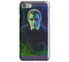 Dracula (Christopher Lee) iPhone Case/Skin