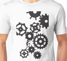 Person In Wheels Unisex T-Shirt