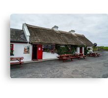 The Beach Bar, Aughris Head, Sligo, Ireland Canvas Print