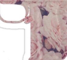 Floral Uzi Sticker