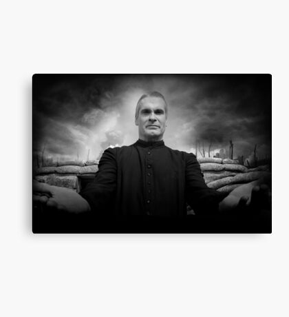 henry rollins tour date time 2016 nh2 Canvas Print