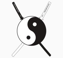 Yin Yang Dual Katana Kids Clothes
